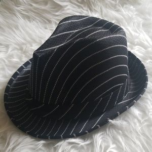 Black and White Stripped Hat